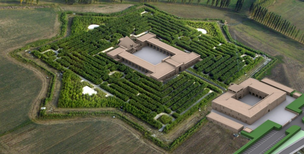 biblioteca-labirinto di Fontanellato.jpg
