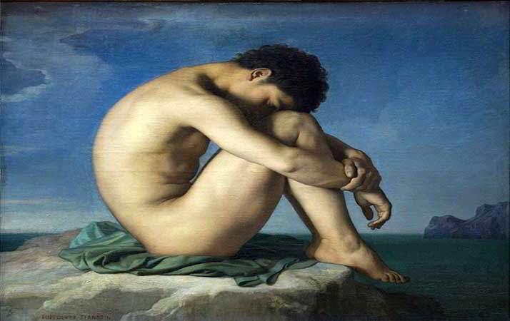 Sognare di essere nudi Flandrin_Hippolyte_1805-1864_-_Jeune_homme_nu_assis.._1855.jpg
