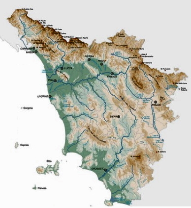 Toscana Cartina Geografica Politica.Una Carta Geografica Del Gruppo Politica Virgilio Forum